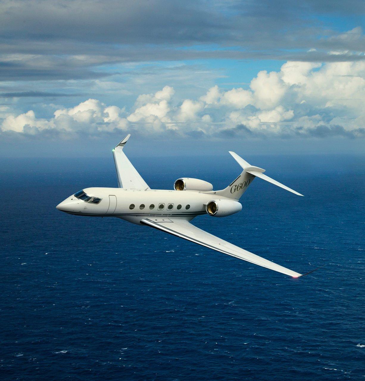 Gulfstream G600 Aerial 07