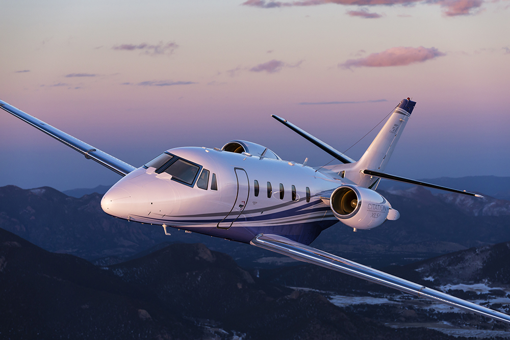 Cessna Citation CLS+ business aircraft