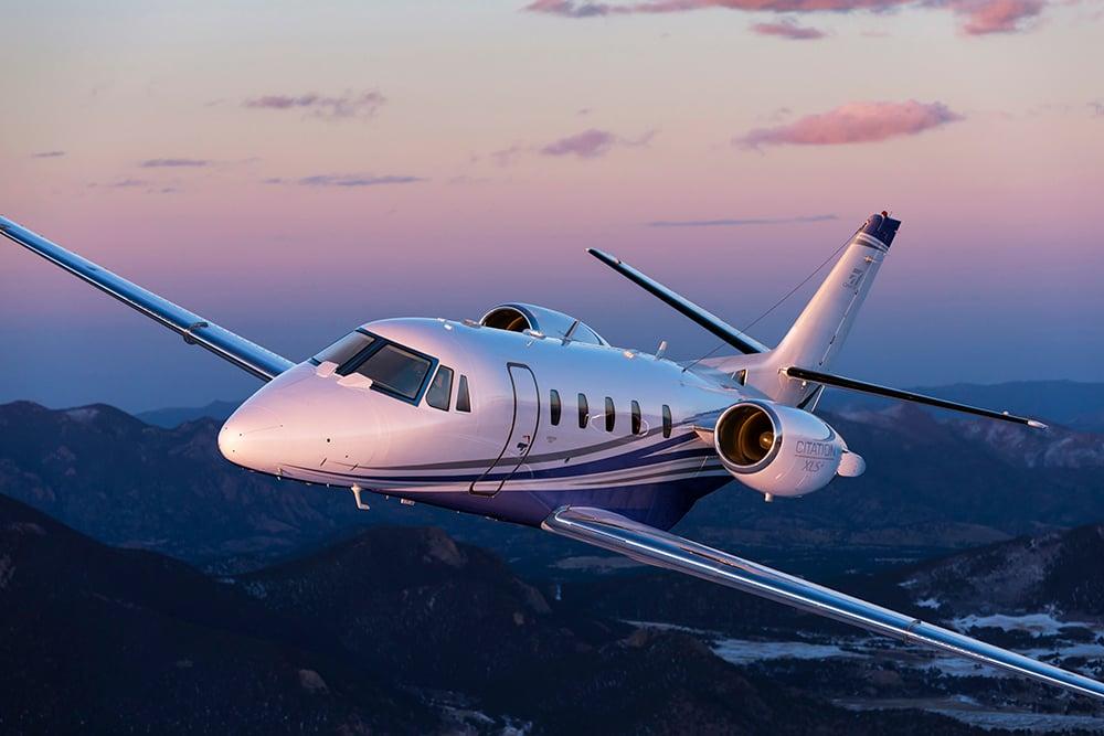 Cessna Citation CLS+ business aircraft