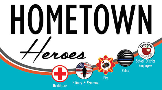 We Love Our Hometown Heroes!
