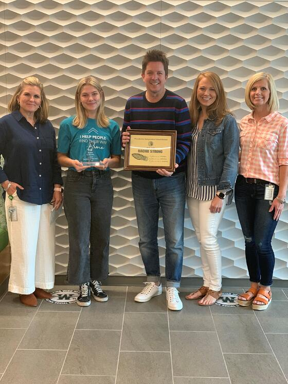 Simpson Elementary Honors John Houston Homes as Business of the Year