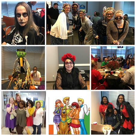 Radians in the Halloween Spirit