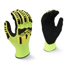 Radians RWG23 High Visibility Work Glove with TPR and Padded Palm