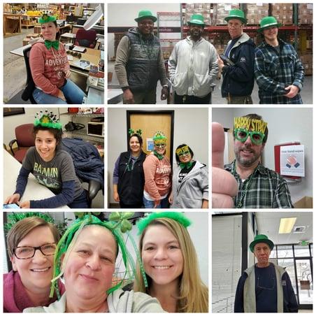 Reno Nevada celebrates St. Patrick's Day 2020