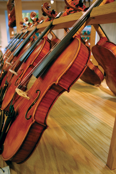 Making a Violin Sound Great: An Interview with SHAR's Hans Anderson
