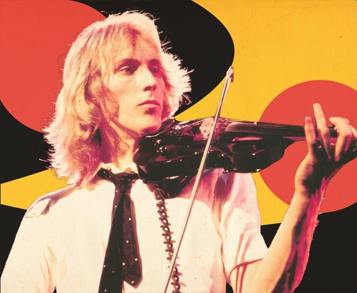 Progressive Rock Violinist Eddie Jobson.