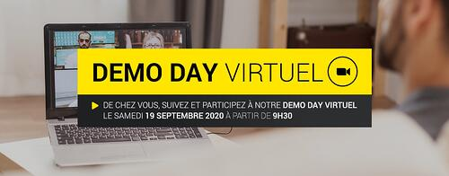 Demo Day VIRTUEL Brainbox le 19 septembre