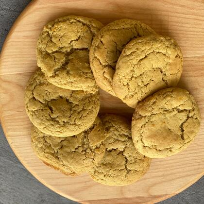 Saffron Ginger Cookie Recipe
