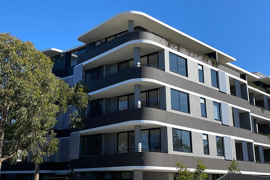 Hebel PowerPattern Facade System for high-rise apartments