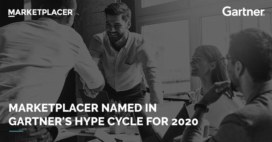 Gartner lists Marketplacer as a sample vendor in 2020 Gartner Hype Cycle