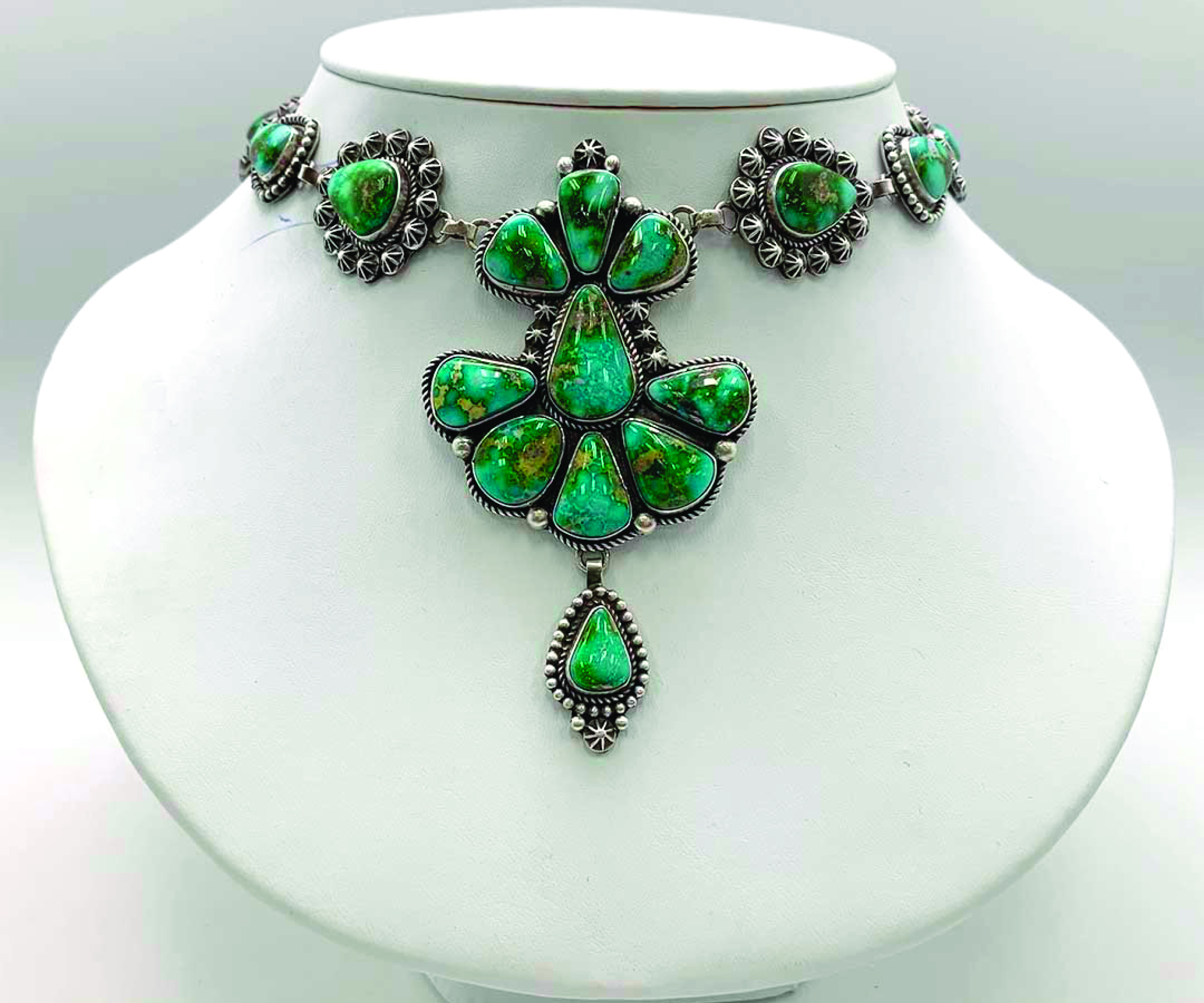 Sonoran Gold Lariat necklace by Randell endito