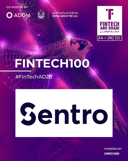 Sentro Update - we join the Fintech 100