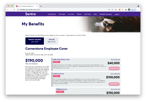 Managing dependents is now easier than ever with Sentro