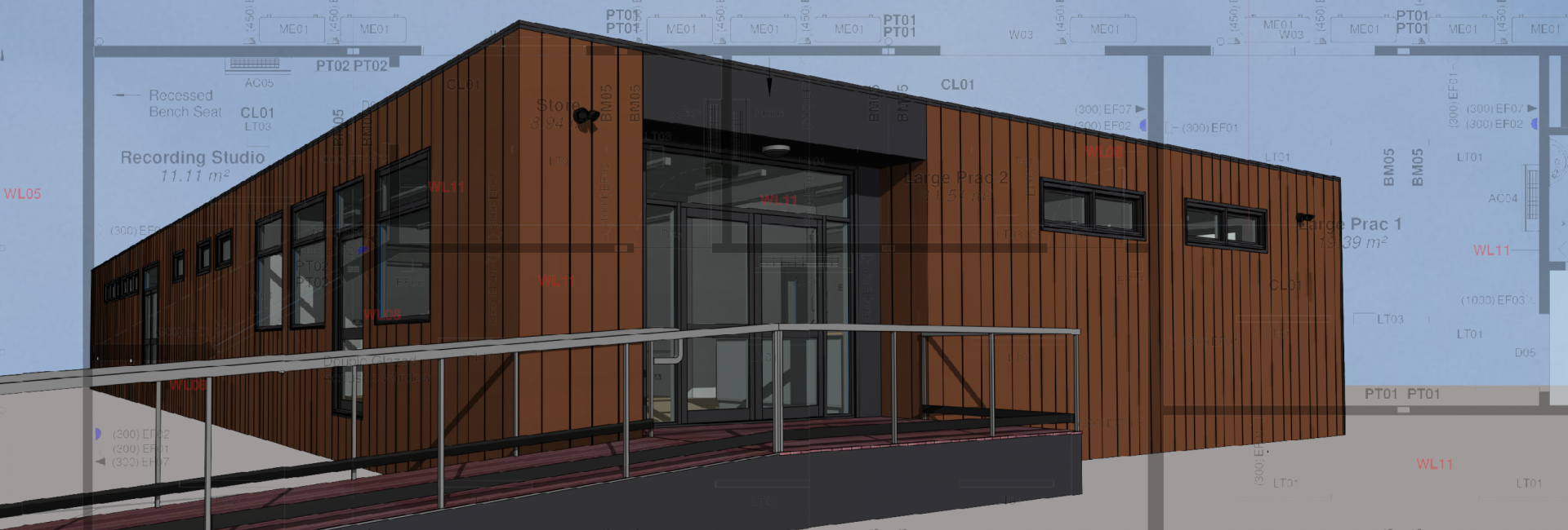 New music building for tabor