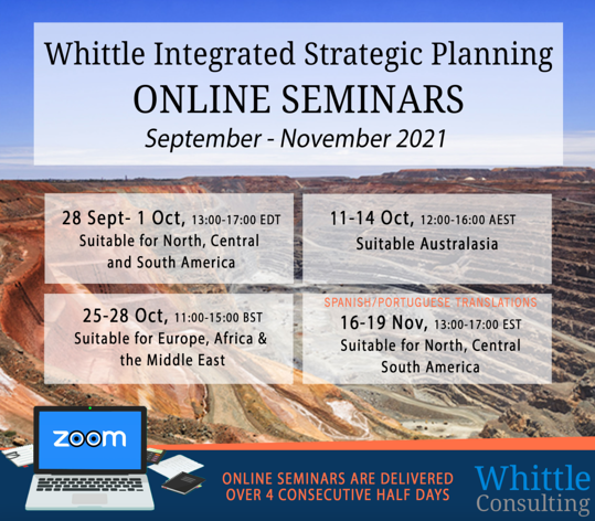 Learn how to improve mine valuation – Online Mining Seminar