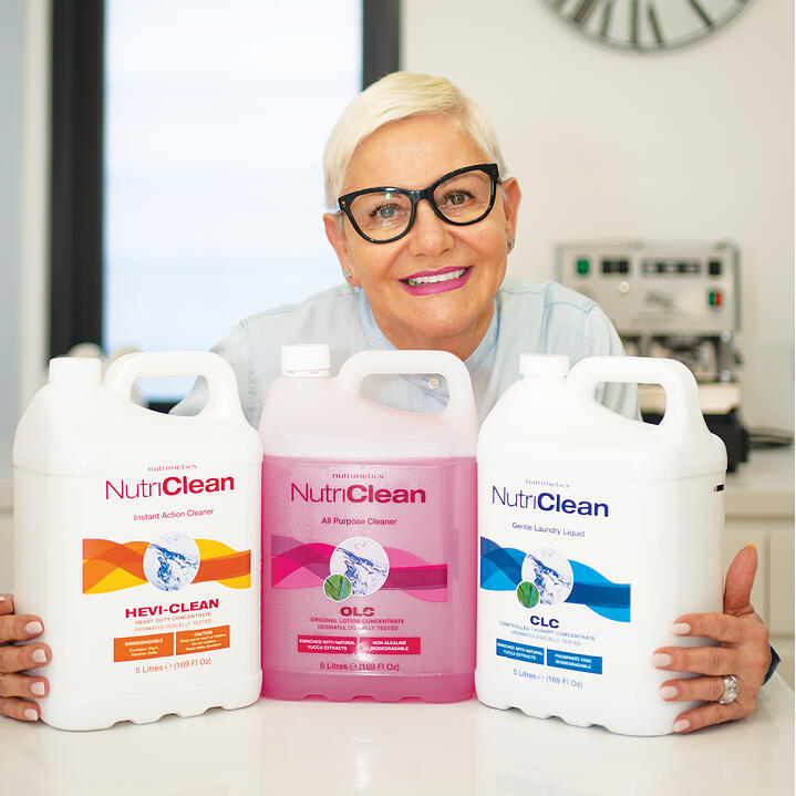 Martina loves stocking up and saving with NutriClean jumbo sizes