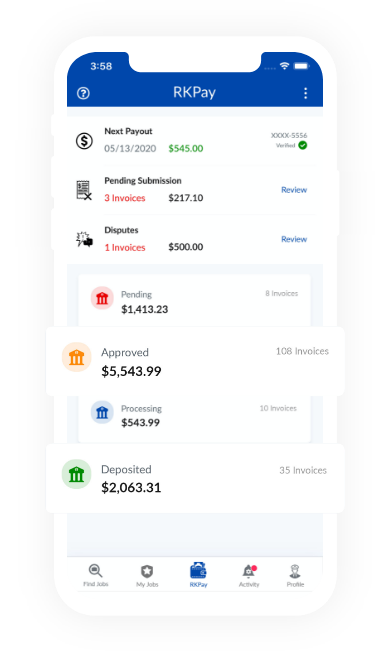 RollKall's payment system