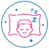 graphic of boy sleeping on pillow