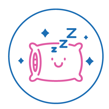 graphics_pillow_with_a_smile_sleeping_better