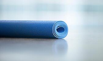 blue yoga fitness floor mat how to clean a yoga mat