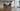man doing restorative yoga pose