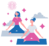 what is pilates two women doing pilates on pilates mats