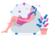 woman sitting on a couch practicing pranayama breathing, how to do yoga breathing