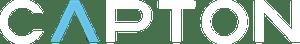 White Capton Logo