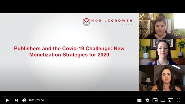 COVID-19 and New Monetization Strategies for Publishers