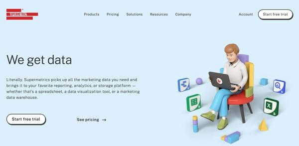 supermetrics Custom Reporting Tool
