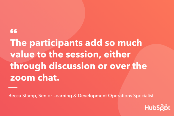 encouraage participants to ask questions interactive presentation idea