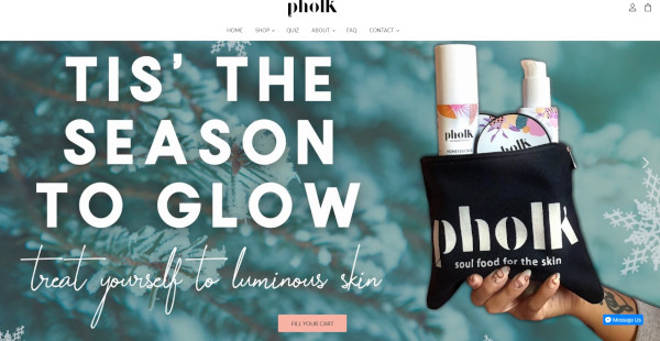 pholk holiday homepage