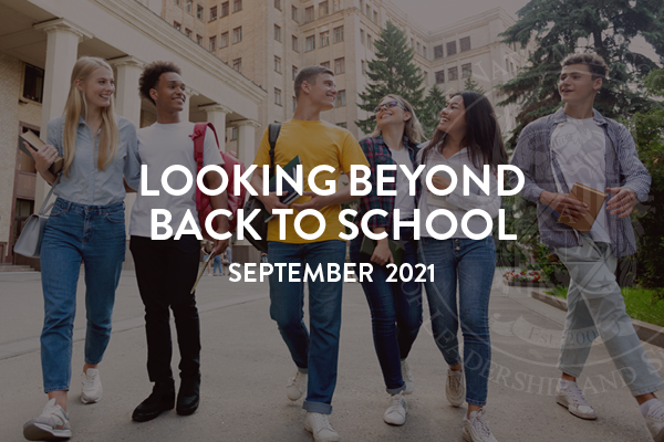 Looking Beyond Back to School: NSLS August 2021 News
