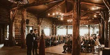 Welcome to the Log Cabin at San Francisco's Presidio Park | Wedgewood Weddings