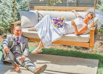 Newlyweds Cheryl and Dan Martinez think their wedding at Ken Caryl Vista was the best of 2020 - Wedgewood Weddings