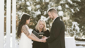 Winter Vows at Ken Karyl Vista by Wedgewood Weddings