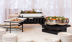 Wedding Food and Presentation are Key