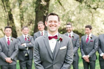 Wedding Attire Ideas For Your Groom & Groomsmen