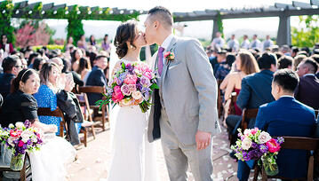 Real Wedding: Cindy & Devin at Stonetree Estate, CA