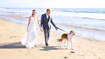 Real Wedding: Lillian & Josh Beachside Vows in Ventura, CA