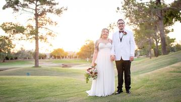 Sierra & Zeke's Wedding on July 31, 2020, at Ocotillo Oasis, AZ