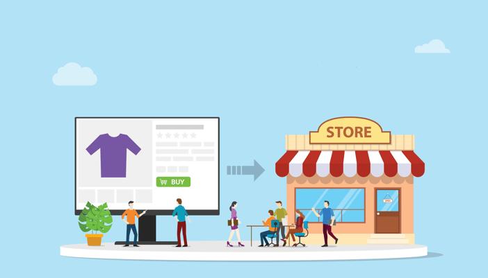 Hvilken rolle vil butikken få fremover?