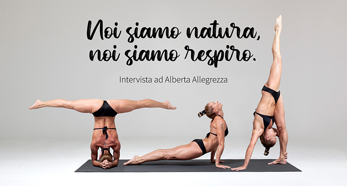 Yoga Teacher Alberta Allegrezza