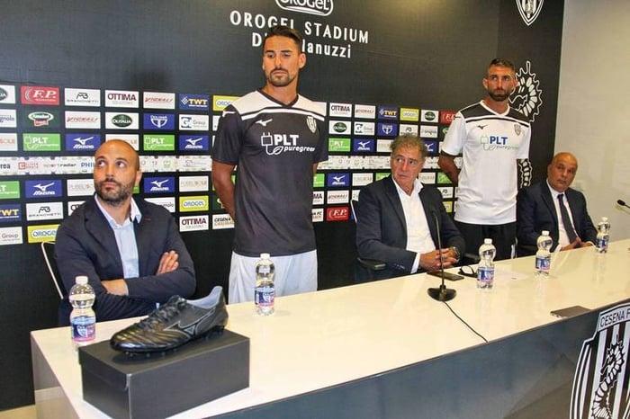 Presentazione maglie 2020-2021 Cesena Calcio - PLT Puregreen