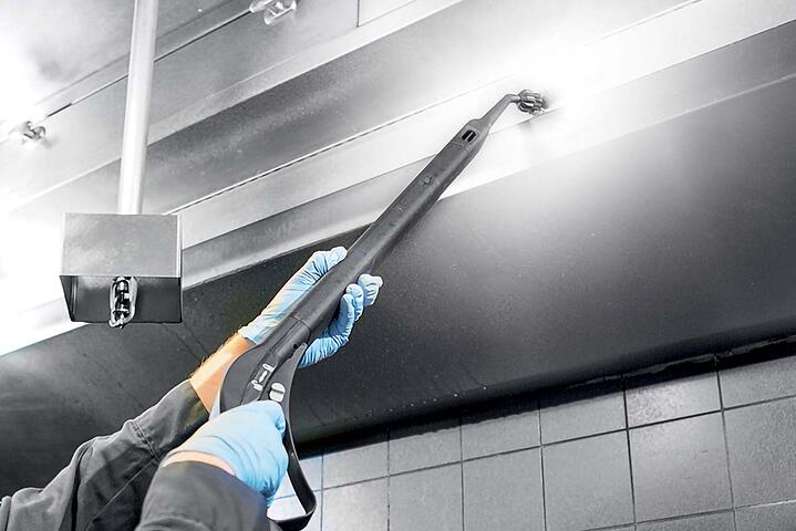 THE PROFESSIONAL STEAM GENERATOR: UNPARALLELED CLEANING AND SANITIZATION