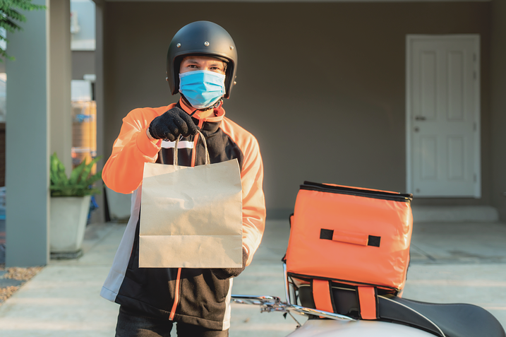 Innovative food delivery trends in the time of COVID-19