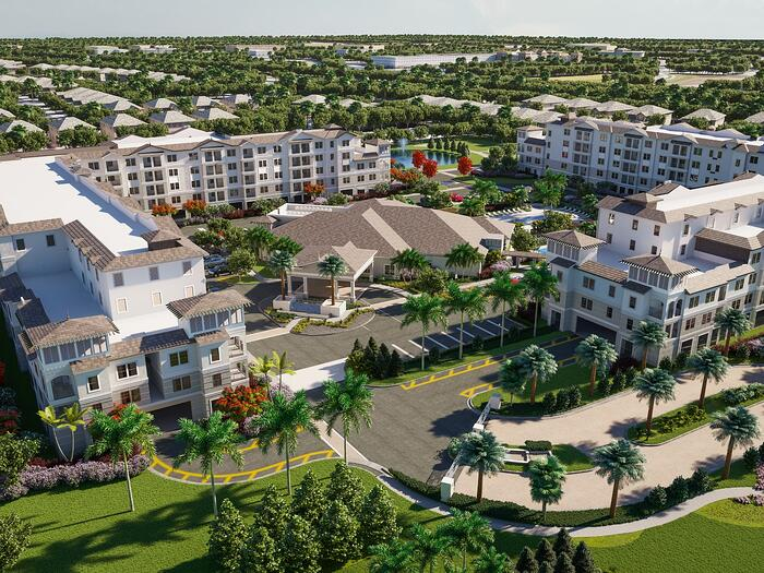 United Group Tops Off 220-unit Palm Beach Gardens IL Lite Community