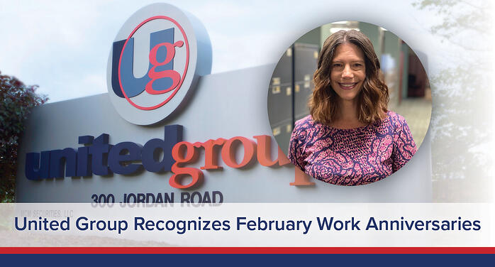United Group Recognizes February Work Anniversaries