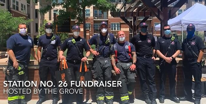 The Grove At Stapleton Hosts BENEFIT Lunch For Local Fire Dept.