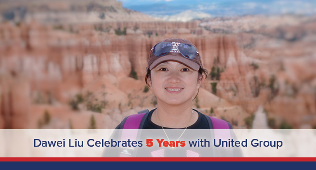 UGOC Spotlight: United Group Celebrates Dawei Liu's Five-Year Work Anniversary
